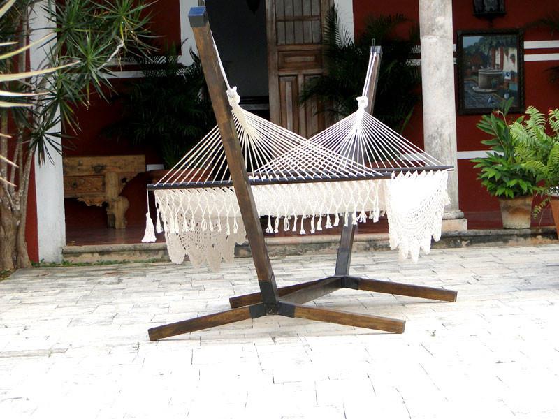 Base de madera para hamaca de palo eco arquitectura dise o de interiores remodelaci n y - Bases para hamacas ...